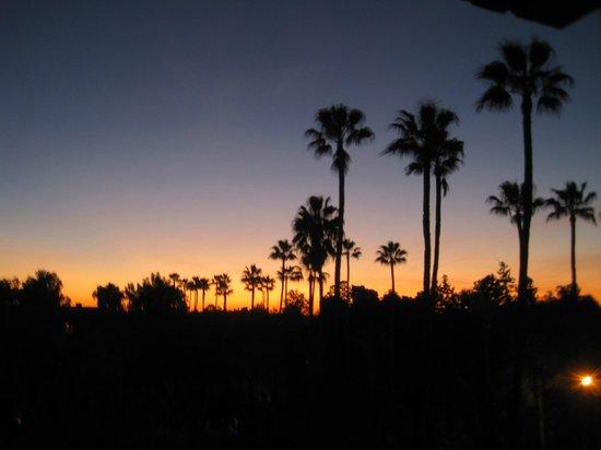 Hotel Kenzi Farah: Nice sunset view from room