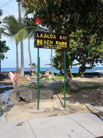 White Sand Beach : Looks like they changed the name to La'aloa beach