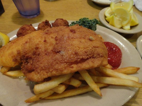 Sam's St John's Seafood : fried haddock special