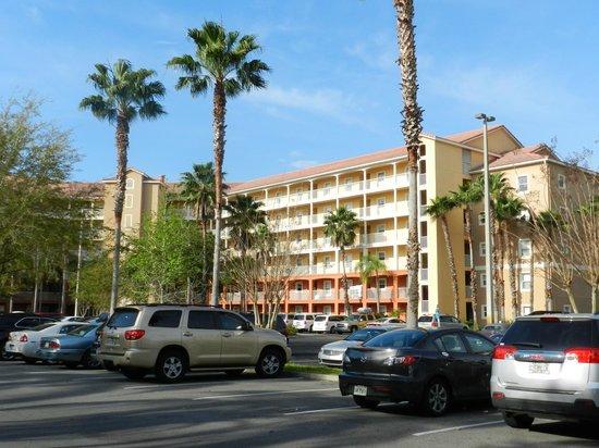 Westgate Vacation Villas Resort & Spa: Newer building of rooms.