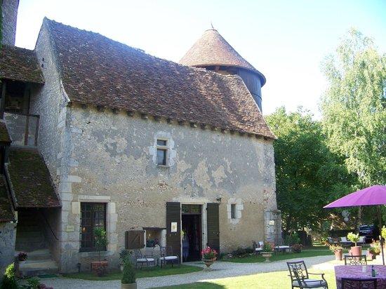 Chateau d'Ingrandes: Extérieur