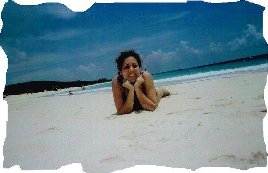 Playa Flamenco: Selfie on Flamenco Beach - solitaire day