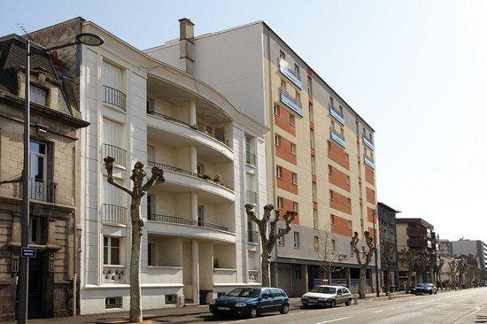 Appart 39 city clermont ferrand centre france voir les for Tarif appart city