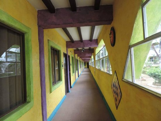 La Hacienda: Interior hallway