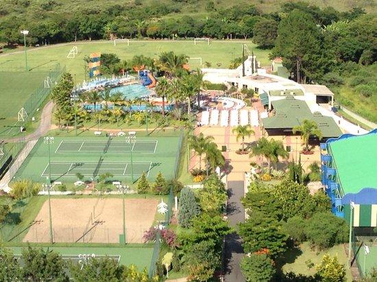 Bourbon Atibaia Convention & Spa Resort: Vista do quarto