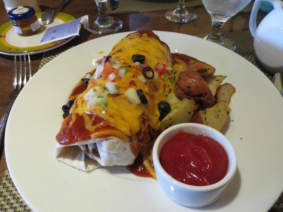 Hyatt Regency Tamaya Resort & Spa : Breakfast Burito