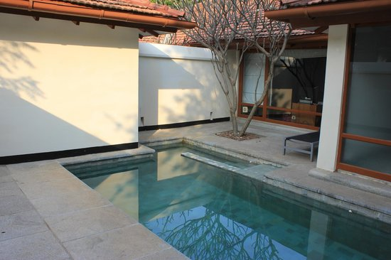 Heritage Madurai : Our own plunge pool!