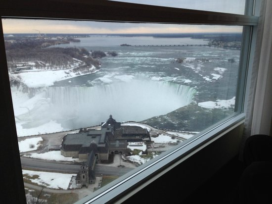 Embassy Suites by Hilton Niagara Falls Fallsview Hotel: View from our 30th floor room.