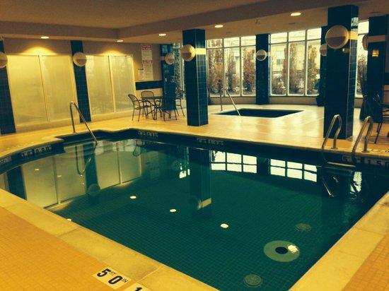Hilton Garden Inn Toronto/Ajax: Pool and hot tub