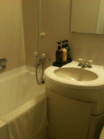 Beppuwan Royal Hotel: 洗面&バスタブ部分