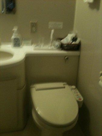 Beppuwan Royal Hotel: トイレ部分