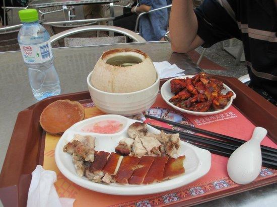 Qilou Old Street: yummy
