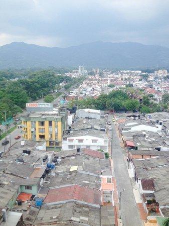 Hotel GHL Grand Villavicencio : Vista desde la habitación