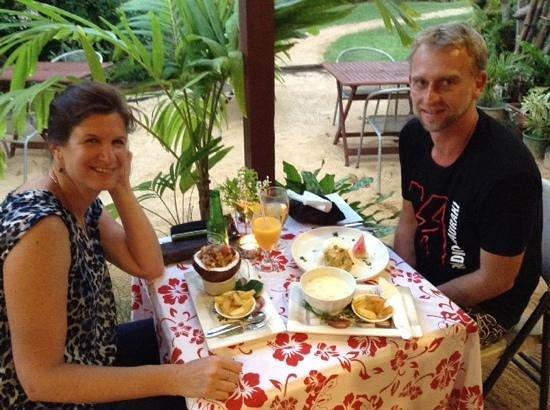 Our wonderful Cafe Tupuna experience.