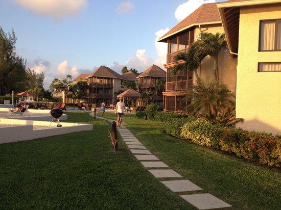 Plantana Condominiums: grounds