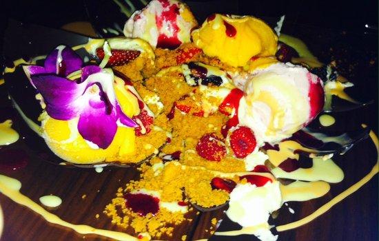 Toro Toro Restaurant & Bar : our dessert