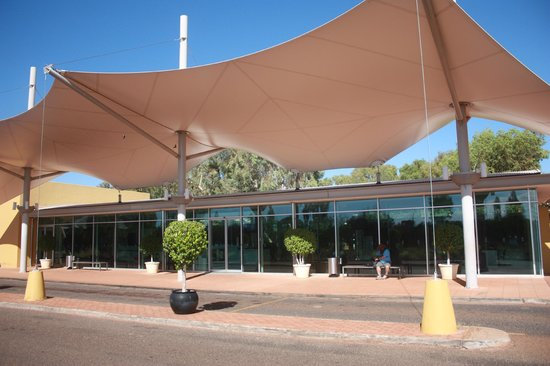 Desert Gardens Hotel, Ayers Rock Resort: Reception area