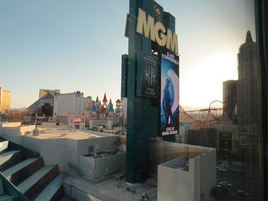 MGM Grand Hotel and Casino: Vista do hotel