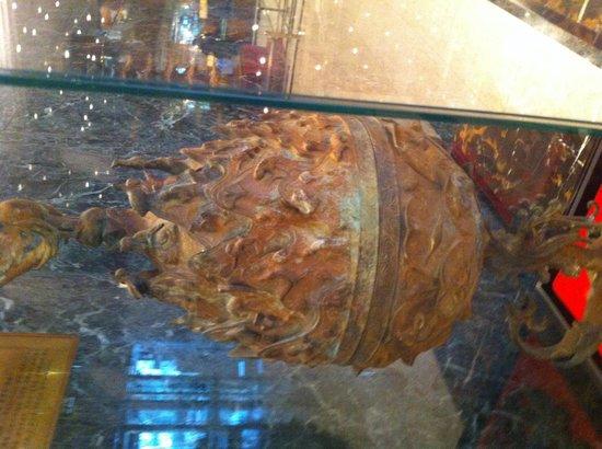 Belle-Essence Seoul Hotel: Ancient bronze incense burner