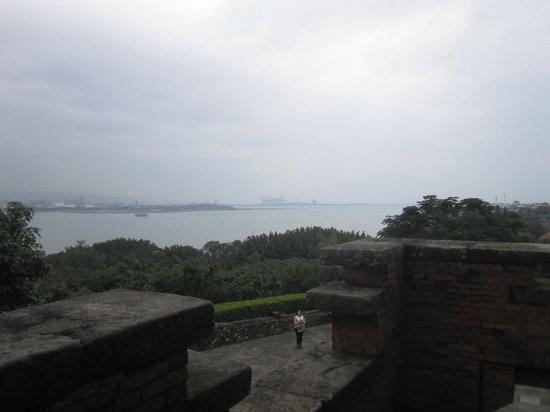 Fort San Domingo: 港口全境