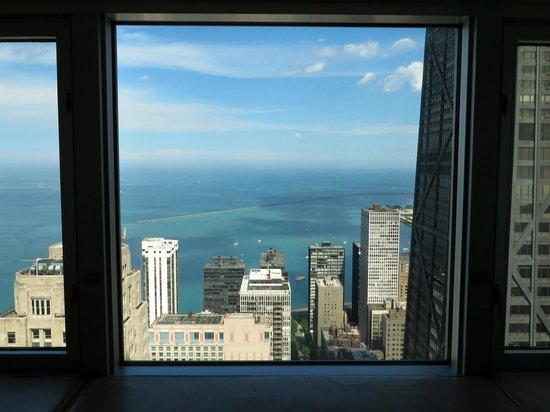 Four Seasons Hotel Chicago: Vista do meu quarto: Perfeito meus 4 dias em Chicago