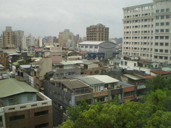 Hotel Royal-Nikko Taipei: 部屋からの眺めです。
