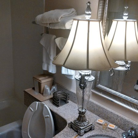 Days Inn Birmingham/West : bathroom light