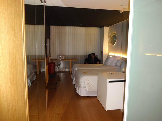Barcelo Sants: The view from the door