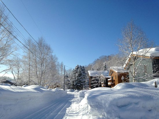 Country Resort Niseko : View to the right of the Chalet