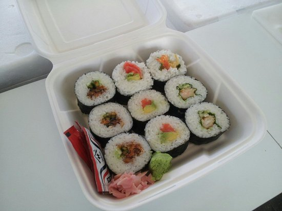 Fiordland Food Cart: We can pack sushi for parties & fanctions!