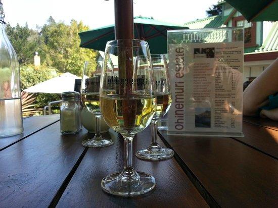 Ohinemuri Estate Winery and Restaurant: Wine!