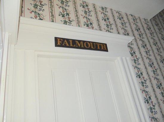 "Green Mountain Inn: ""Falmouth"" Our room"