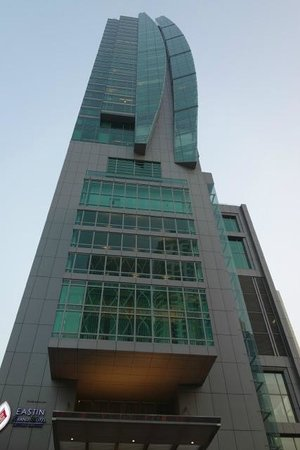 Eastin Grand Hotel Sathorn: A glass tower.....with great service.