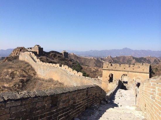 Jinshanling Great Wall: 人が少なく天気も最高でした!2014-3-22
