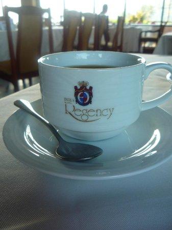 Earl's Regency: Always a cup of Sri Lankan tea at the ready.