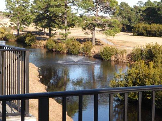 Plantation Resort : View from room balcony