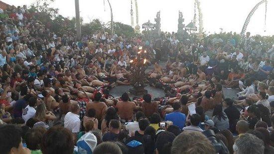 Grand Mirage Resort & Thalasso Spa - Bali: Fire Dance