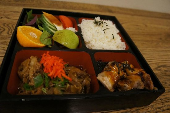 Don Don Japanese: Chicken Bento