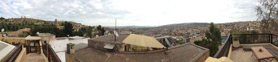 Dar Roumana: Panoramic view from terrace