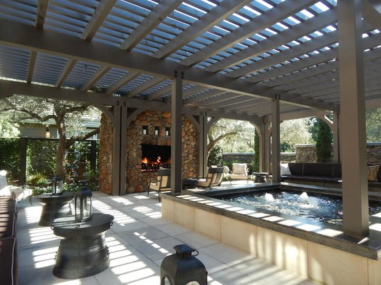 Hotel Yountville : Stunning first impression off lobby