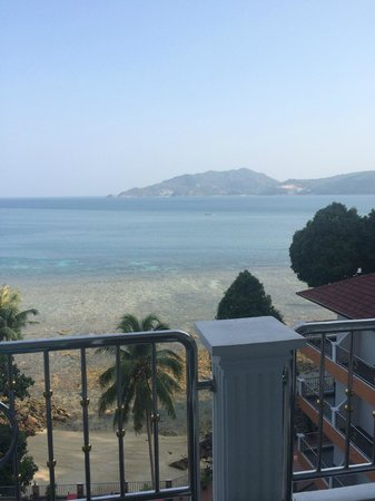 Blue Ocean Beach Resort : Great view