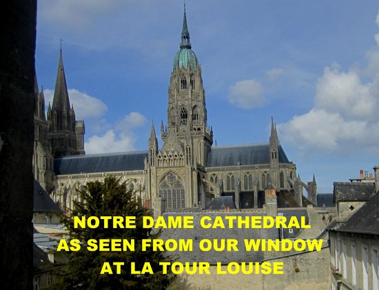 La Tour Louise : VIEW OF THE CATHEDRAL