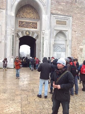 GoTurkeyTours - Day Tours : At the place with our guide