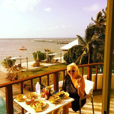 Villa Nalinnadda: Breakfast
