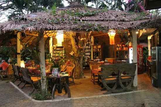 Secret Garden Chiang Mai : It was so lovely to have dinner here.