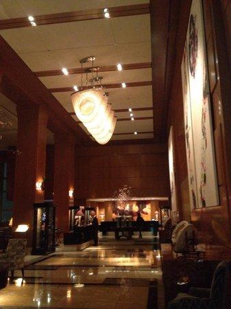 The Ritz-Carlton, Tokyo : The stunning lobby