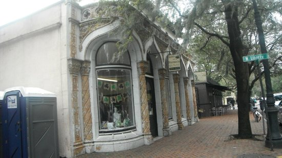 Old Savannah Tours: Old Storefront along Trolley Tour