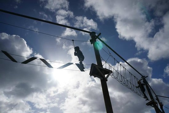 Presthaven Holiday Park: High Ropes course