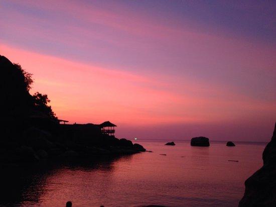 Charm Churee Villa: Закаты удивительной красоты
