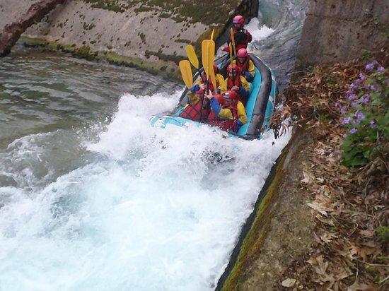 Primoula Country Hotel and Spa: rafting στο Βοϊδομάτη ποταμό